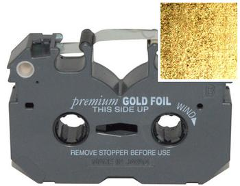Gold (Metallic) FoilFast® P21/x Cartridge - 120M