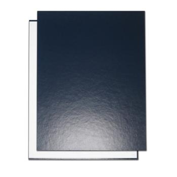 "8.5"" x 11"" Dark Blue Composition Easyback Hardcovers"