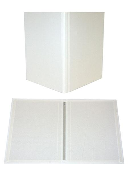 White Composition Fastback® Hardcovers 8.5in x 11in