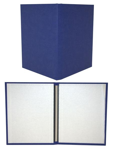 Bright Blue Suede Fastback® Hardcovers