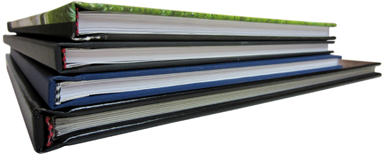 Sample Books with Fastback® Headbands