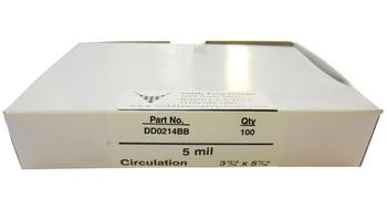 "Circulation Gloss Lamination Pouches, 3-15/16"" x 5-11/16"""