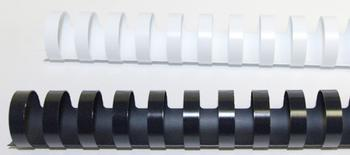 "7/8"" Plastic Binding Combs 19-Ring"