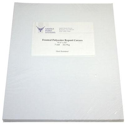 Frosted/Matte Polyester Covers