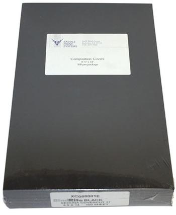 "8.5"" x 14"" Leatherette Vinyl Binding Covers"
