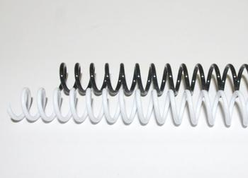 10mm Plastic Binding Coils 4:1 Pitch