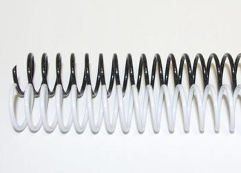 16mm Plastic Binding Coils 4:1 Pitch
