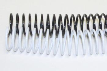 20mm Plastic Binding Coils 4:1 Pitch