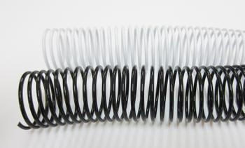 38mm Plastic Binding Coils 4:1 Pitch