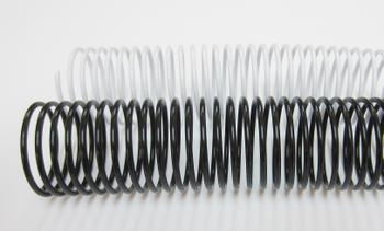 40mm Plastic Binding Coils 4:1 Pitch