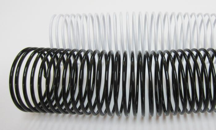 Plastic Binding Coils Total of 50 coils per order Assorted Colors and Sizes