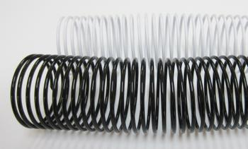 50mm Plastic Binding Coils 4:1 Pitch
