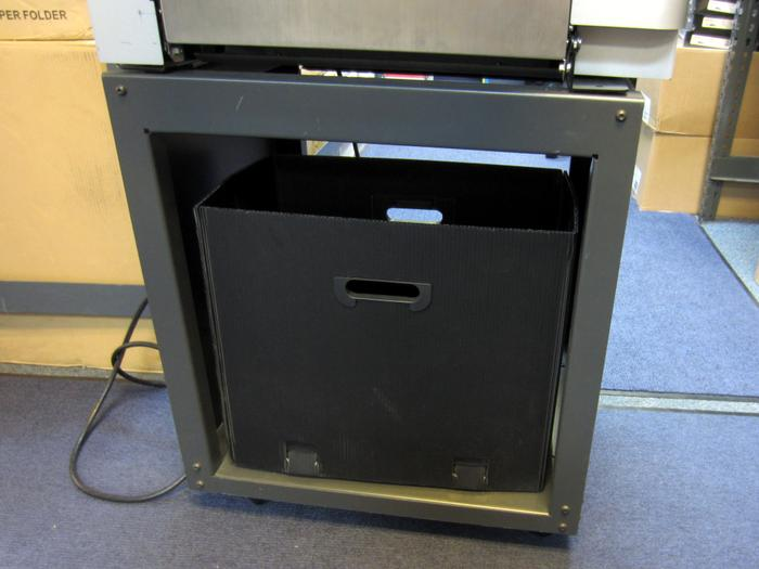 ALM Plastic Waste Bin for trimmed materials