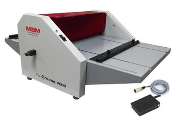 MBM GoCrease 4000 Electric Tabletop Creaser & Perforator