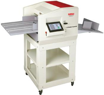 MBM GoCrease AutoAir High-Speed Programmable Creaser, Perforator & Punch