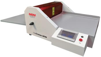 MBM GoCrease SEMI Programmable Semi-Automatic Creaser & Perforator
