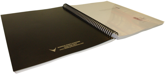 Eco-Friendly Leatherette Binding Covers