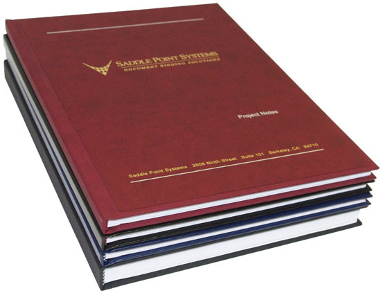 Fastback® Tape Bound Hardcover Books