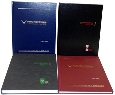 Fastback® Hardcovers Bound with Super Strips